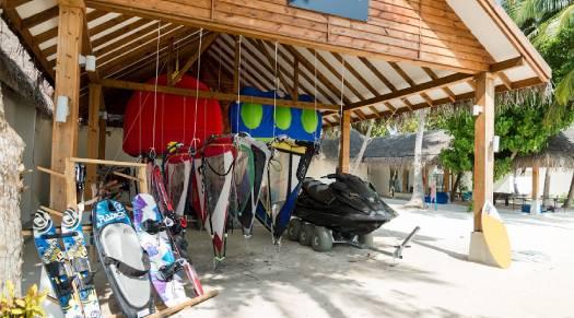 Water Sports Equipments at Amilla Fushi Maldives